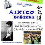 Atelier aikido enfants 2016 Affiche