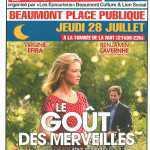 Affiche cinéma à Beaumont