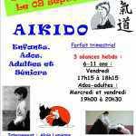 Atelier aikido 2016 - 2017 Affiche